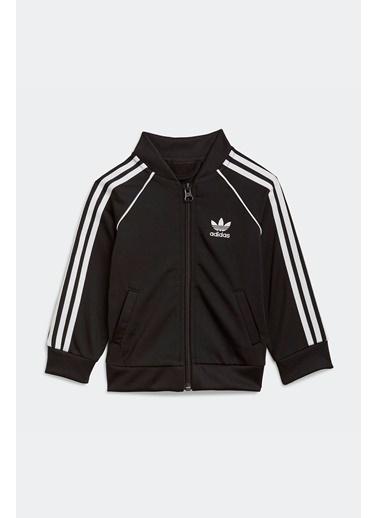 adidas Adidas Erkek Bebek Günlük Eşofman Takım Sst Tracksuit Gn8441 Siyah